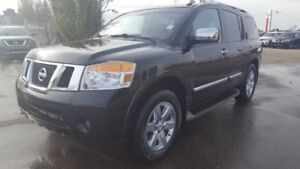 2012 Nissan Armada 4X4 PLATINUM Navigation (GPS),  Leather,  Hea