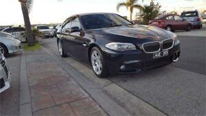 2011 BMW 520d F10 MY0311 Steptronic Carbon Black 8 Speed Sports Automatic Sedan Cheltenham Kingston Area Preview