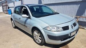 2004 Renault Megane X84 Dynamique Grey 4 Speed Automatic Hatchback Maidstone Maribyrnong Area Preview