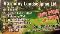 Sod Installation/Yard Renovation We Do It All 10% OFF!