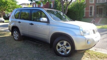 2008 Nissan X-Trail Silver Constant Variable Wagon Moorabbin Kingston Area Preview