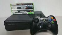 A Vendre Console Xbox 360 Slim 250gb + 3 jeux au choix