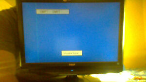 22 inch rca tv flatscreen with stand could be used as moniter