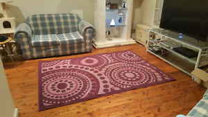 Rug mat carpet purple pink circle Bidwill Blacktown Area Preview