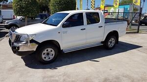 2012 Toyota Hilux GGN25R MY12 SR Double Cab White 5 Speed Automatic Utility Acacia Ridge Brisbane South West Preview