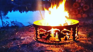 Custom Firepit Rings - Gift Certs Available - Fire Pit Ring