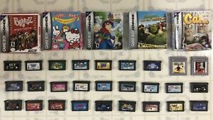 Gameboy Advance Games_Super Mario Advance, Super Mario Bros.3...