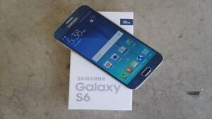 In the box new Samsung galaxy S6 with extras