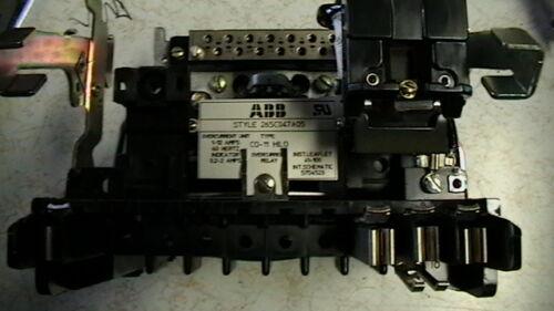 ABB OVERCURRENT RELAY  265C047A05
