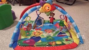 Baby Einstein play gym/ play mat INCLUDES HANGING TOYS