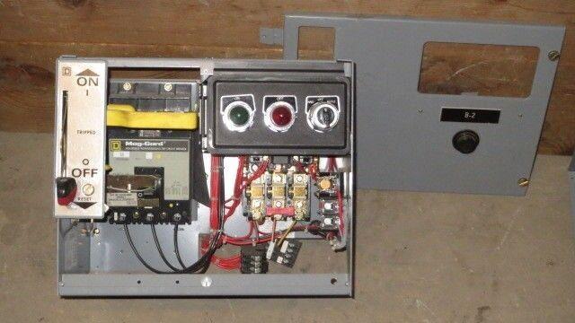 "SQUARE D 12"" MCC BUCKET 3 AMP FHP BREAKER 480 VAC WITH NEMA SIZE 1 STARTER"