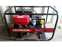 Honda ec4000 generator GX270