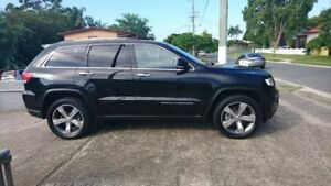 2015 Jeep Grand Cherokee WK MY15 Limited Crystal Black Pearl 8 Speed Sports Automatic Wagon