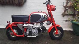 Looking For Old Motorcycles and Mini Bikes