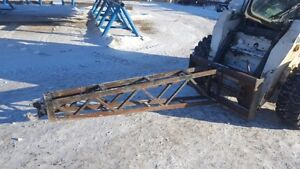 7FOOT LONG JIB BOOM POLE ATTACHMENT FOR SKIDSTEER / SKID STEER