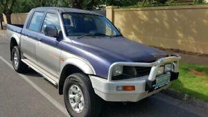 1998 Mitsubishi Triton MK GLS (4x4) Silver 5 Speed Manual 4x4 Double Cab Utility Prospect Prospect Area Preview