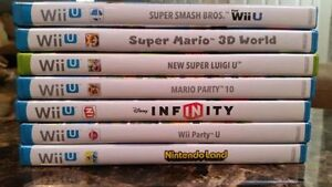 Wii U Pro Controller and Wii U games for sale