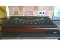 6 in 1 Casino Table Games Unit