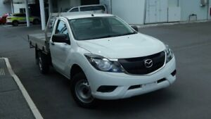 2017 Mazda BT-50 UR0YE1 XT 4x2 White 6 Speed Manual Cab Chassis North Lakes Pine Rivers Area Preview