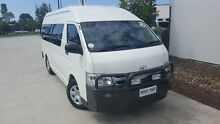 2013 Toyota Hiace KDH223R MY12 Commuter High Roof Super LWB White 5 Speed Manual Bus Robina Gold Coast South Preview