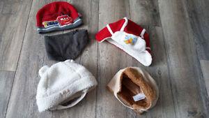 Baby boy winter hats - chapeaux hiver harçon