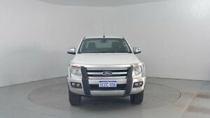 2013 Ford Ranger PX XLT 3.2 (4x4) Cool White 6 Speed Automatic Utility Perth Airport Belmont Area Preview