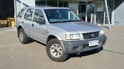 1999 Holden Frontera MX S (4x4) Silver 5 Speed Manual 4x4 Wagon Hillman Rockingham Area Preview