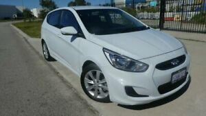 2018 Hyundai Accent RB6 MY18 Sport Chalk White 6 Speed Sports Automatic Hatchback Bassendean Bassendean Area Preview