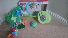 Fisher Price Rainforest Cot Mobile in box