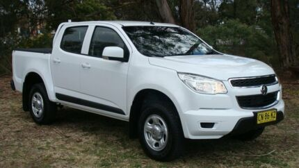2015 Holden Colorado RG MY15 LS Crew Cab White 6 Speed Sports Automatic Utility