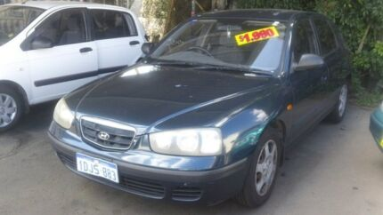 2001 Hyundai Elantra XD GL Blue 5 Speed Manual Hatchback Victoria Park Victoria Park Area Preview