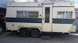 1985 18ft Rustler Trailer Clean ! Lowered price ! Sell today!!