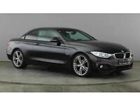 BMW 420 2.0TD 184 Auto Sport Convertible BUY FOR £65 A WEEK, FINANCE £0 DEPOSIT