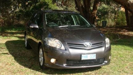 2011 Toyota Corolla ZRE152R MY11 Ascent Sport Grey 6 Speed Manual Hatchback Oaks Estate Queanbeyan Area Preview