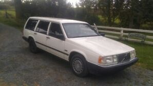 1992 VOLVO 960 WAGON, 6 CYL, INSPECTED,RUST FREE,ORIG PAINT
