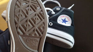 Hip Hop dance shoes Converse youth size 12 very little used