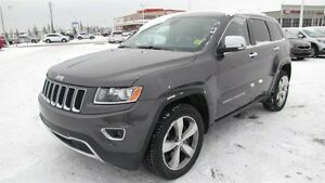 2014 Jeep Grand Cherokee 4WD LIMITED Accident Free,  Navigation