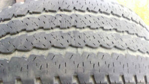 2 good All season truck tires Firestone LT285/60R20 $80 for both