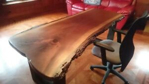 You Should See These Desks!  Live Edge and Reclaimed Wood