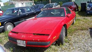 parting out 1987  Pontiac firbird