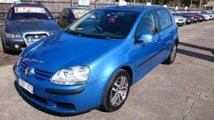2004 Volkswagen Golf 1K 1.9 TDI Trendline Blue 6 Speed Manual Hatchback Maidstone Maribyrnong Area Preview