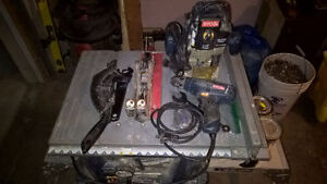 Table Saw / Router / Drill & Bits