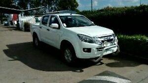 2014 Isuzu D-MAX MY15 LS-M Crew Cab White 5 Speed Sports Automatic Utility Acacia Ridge Brisbane South West Preview