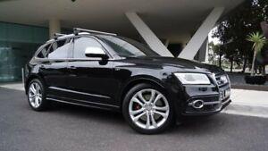 2016 Audi SQ5 8R MY17 TDI Tiptronic Quattro Black 8 Speed Sports Automatic Wagon South Melbourne Port Phillip Preview