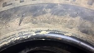 5 Tires - Michelin LTX A/T2 - 275/70 R18 M&S Prince George British Columbia image 10