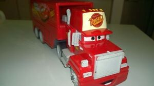 """""""Cars"""" Mack Trailer truck character toy"""