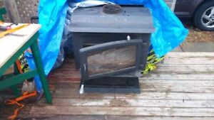 1 year old woodstove with chimney