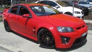 2008 Holden Special Vehicles Clubsport E Series MY08 Upgrade R8 Red 6 Speed Manual Sedan Homebush Strathfield Area Preview