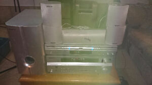 Pioneer SX-316 Receiver with 5.1 stereo speaks for $100.00