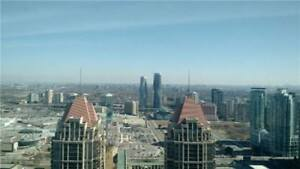 Lovely 1bdrm Condo Unit With Amazing View Of Mississauga City